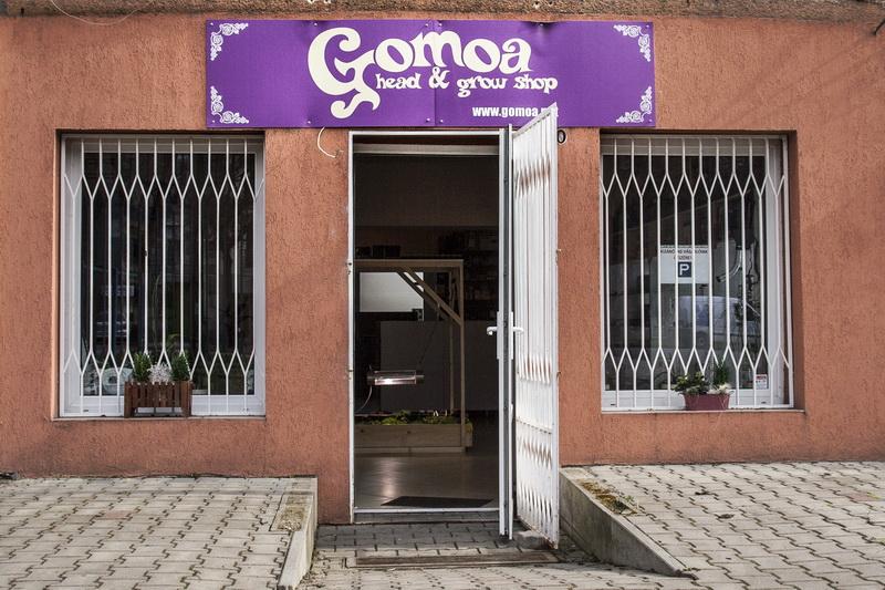 Gomoa Headshop Buda