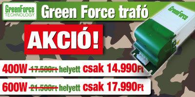 green force akció