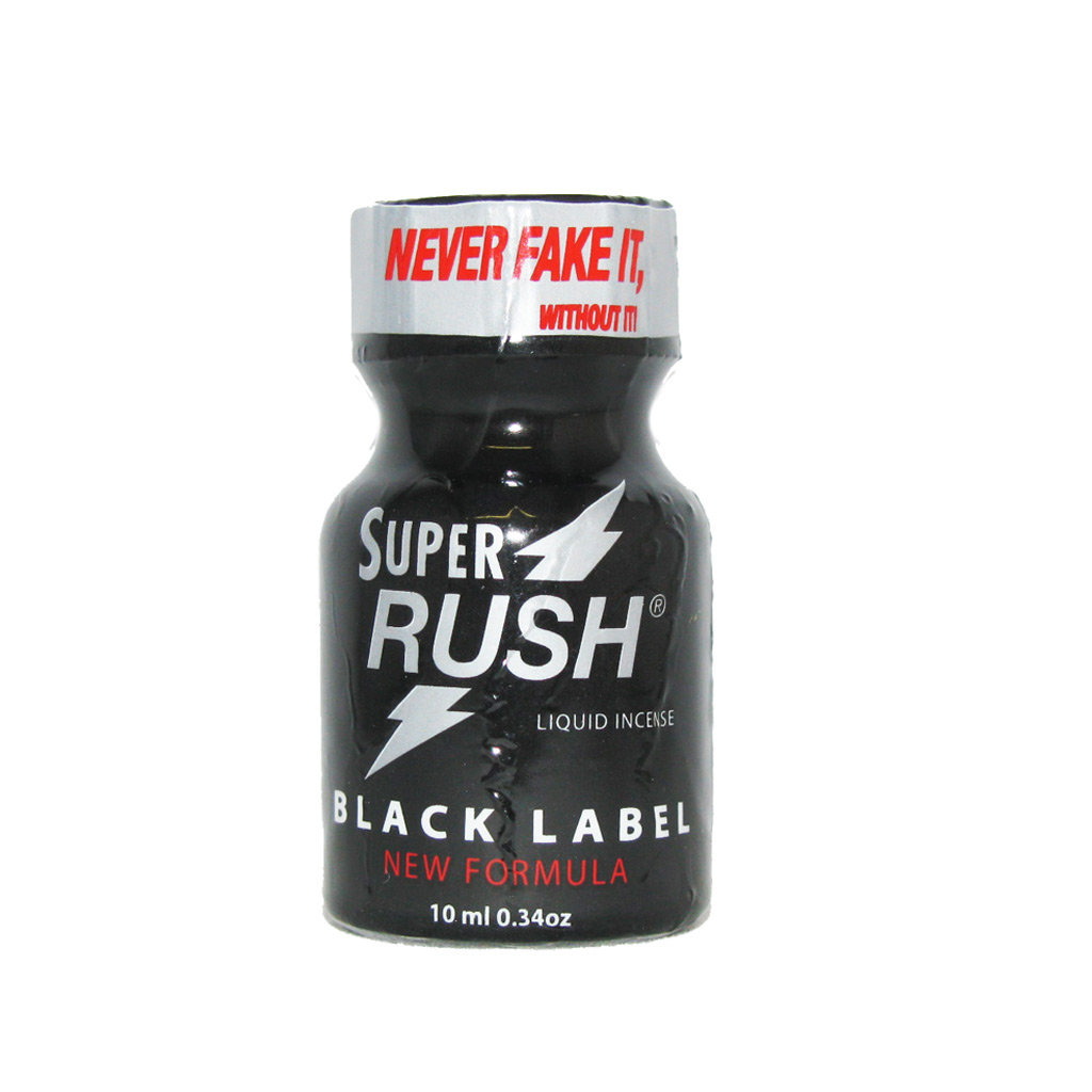Poppers Super Rush Black Label Aroma 9 ml