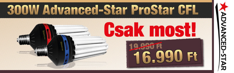 Advanced-Star ProStar CFL Energy Saving Bulb 6400K GROW
