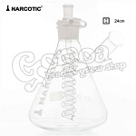Narcotic Glass Bong 24cm