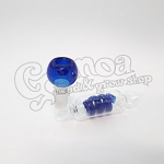 Colorful twisted glass pipe 13,5 cm 3