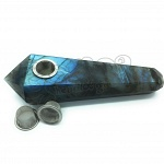 Quartz Pipe Labradorit 3