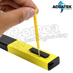 Aquatek Digital pH Meter 0.1 Resolution Handheld 4