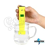 Aquatek Digital pH Meter 0.1 Resolution Handheld 5