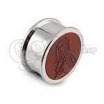 Metal Grinder with Leather 3 parts 46mm