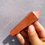 Red Gold Sand Quartz Pipe 3