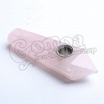 Rose Quartz Pipe 4