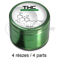 Metal Grinder with THC Design 50 mm