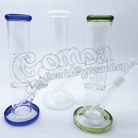 Glass Percolator Bong with Ice Holder 21 cm Various Colors