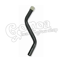 Aluminium Chillum For Acrylic Bongs 13 cm