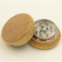 Natural Wooden Grinder with Metal Inside 43 mm