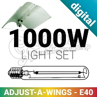 Adjust-A-Wings set 1000W With Digital Ballast