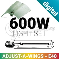 600W Grow light Set With Digital Ballast