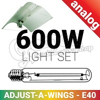 Adjust-A-Wings grow light set 600W