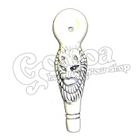 Lion Head Pipe Ceramic