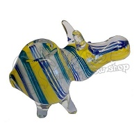 Pig Shape Glass Pipe
