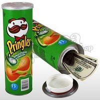 Pringles Chips Secret Stash Can With Different Flavores