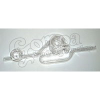 Spiral Glass Pipe or Kawumm 19 cm