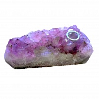 Natural Amethyst Chrystal Smoking Pipe