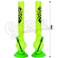 Green Acrylic Bong Tattoo 48cm