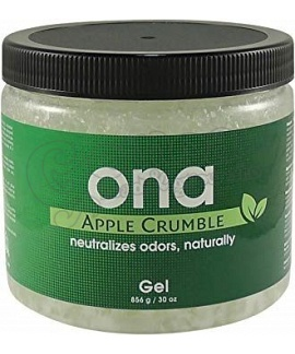 Ona Odor  Neutralizing Gel Apple Crumble
