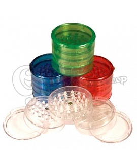 Acrylic Herb Grinder 60 mm 5 parts