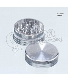Amsterdam XXX CNC herb grinder 2 parts 40 mm