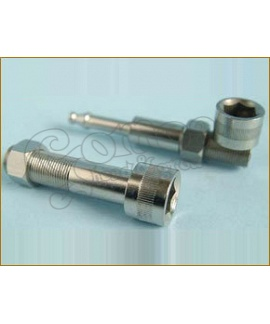 Metal Nut & Bolt screw pipe small 7 cm