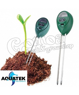 Aquatek 3in1 Soil Tester