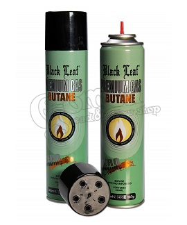 Black Leaf Premium Butane Gas fill/refill 300 ml