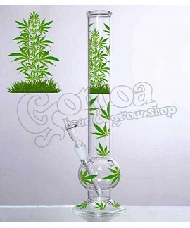 "Bong Glass ""Leaf Jhari"" 45 cm"