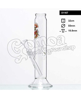 Bong glass Tattoo 32 cm