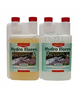 Canna Hydro Flores A/B nutrients