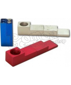 "Magnetic ""click"" pipe various colours 7 cm"