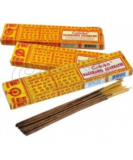 Goloka Nag Champa Incense Sticks 15gr