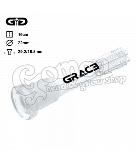 Grace Glass 6 arm diffuser chillum adapter