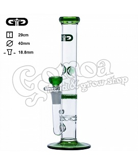 Grace Glass Tornado Green Cane 29 cm