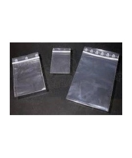 Zip Lock bag clear 80x120 mm 100 pieces