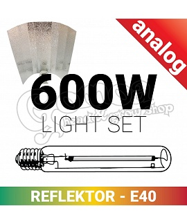 Grow light set 600W Hps