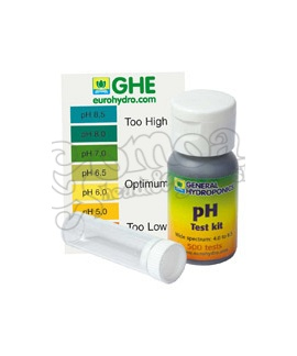 GHE liquid pH test