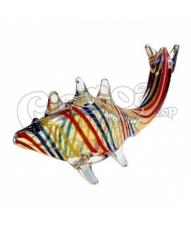 Fish Shape Glass Pipe