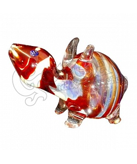 Turtle Shape Glass Pipe
