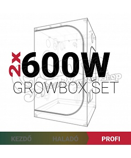 Profi Grow Box Szett 2x600W