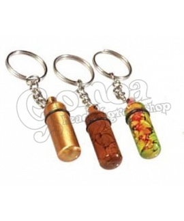 Sniffer Metal Bottle Keychain