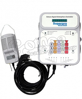 Superpro Hydroponics DDAC-1 Deluxe Atmosphere / CO2 Controller
