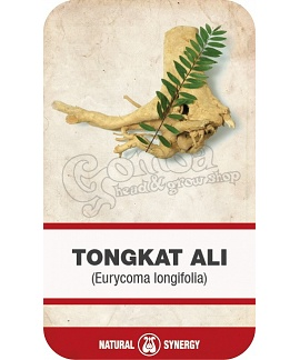 Tongkat Ali root (Eurycoma ongifolia) shredded