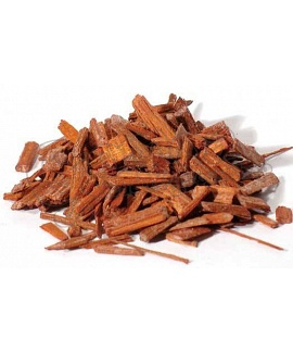 Red Sandalwood (Pterocarpus santalinus) sgredded