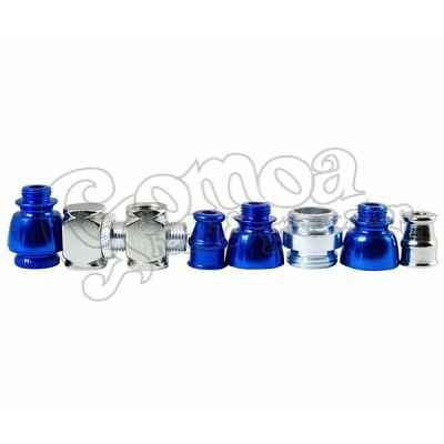 Blue Tobacco Pipe for Herb Smoking 9 cm 2