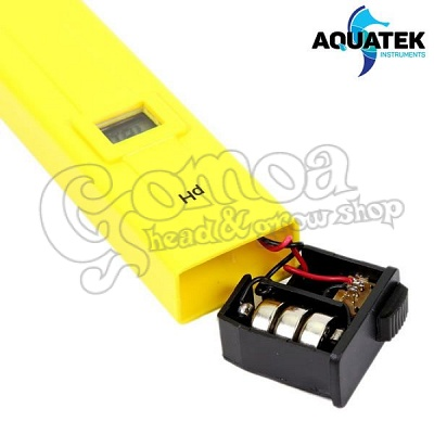 Aquatek Digital pH Meter 0.1 Resolution Handheld 2